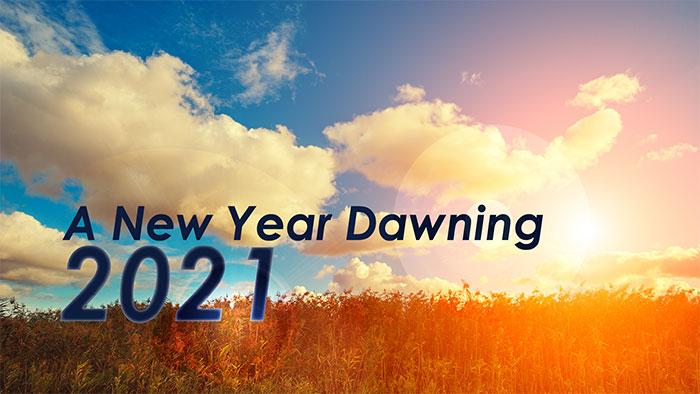 A New Year Dawning